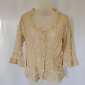 Coldwater Creek blouse size sp